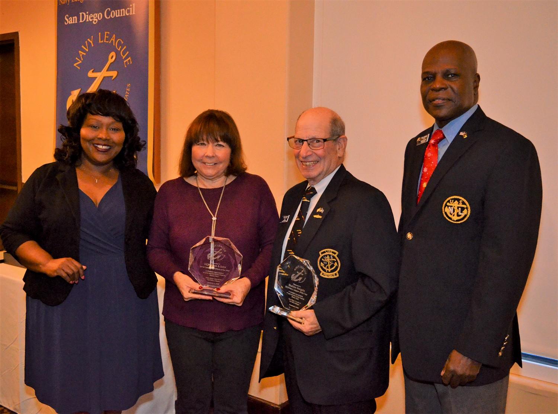 Mayor Kathy Shel and Tony