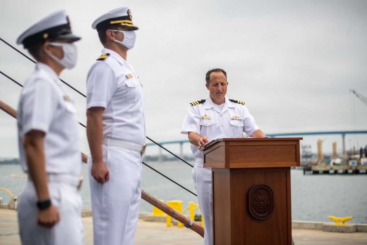 The Navy Commissions USS Kansas City