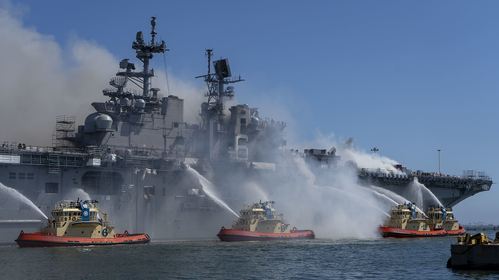 What the Navy is Doing to Ensure Fire Safety