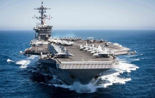 USS Theodore Roosevelt Departs San Diego Ahead of Second Deployment in 2020