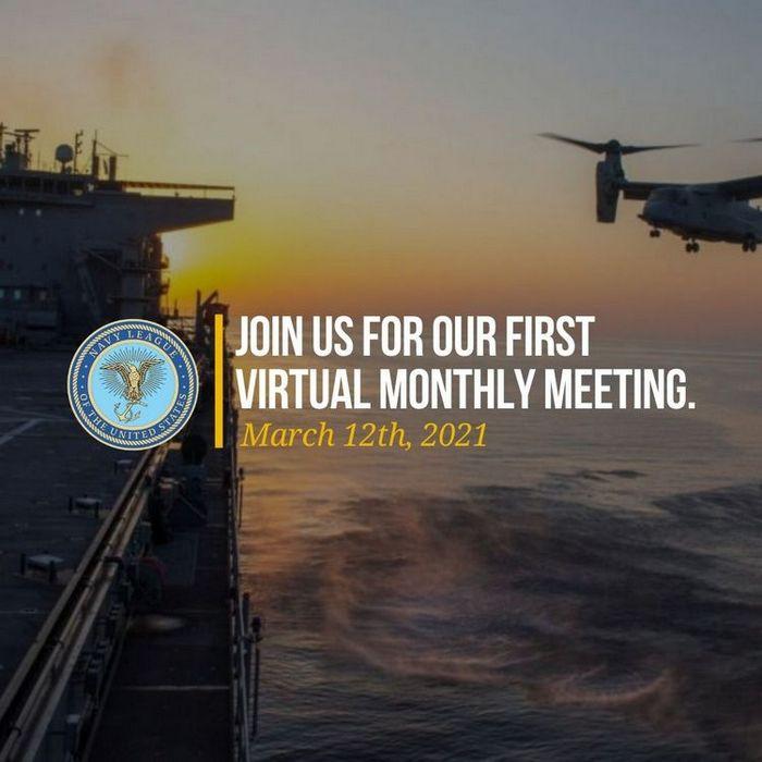 Navy League First Virtual Meeting