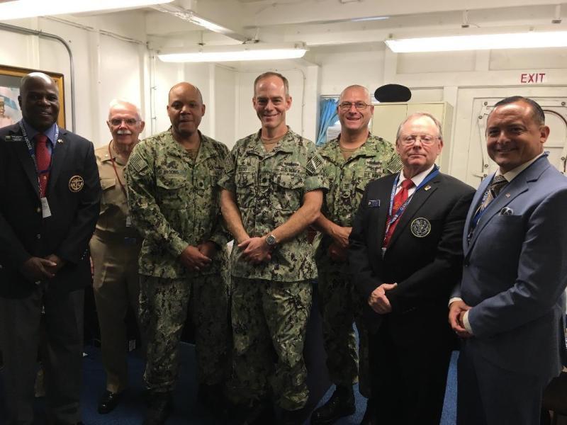 NLSDC President & Sea Service Chairman Awards Presentation USS Dewey