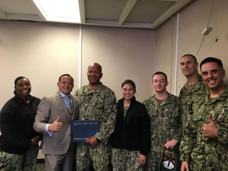 Sea Service Committee (FITZ Alumni) USS Fitzgerald (Oct 2019)