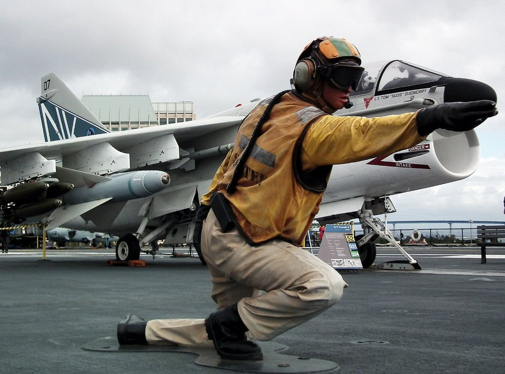The USS Midway Museum Adds a Restored Navy A-7 Corsair