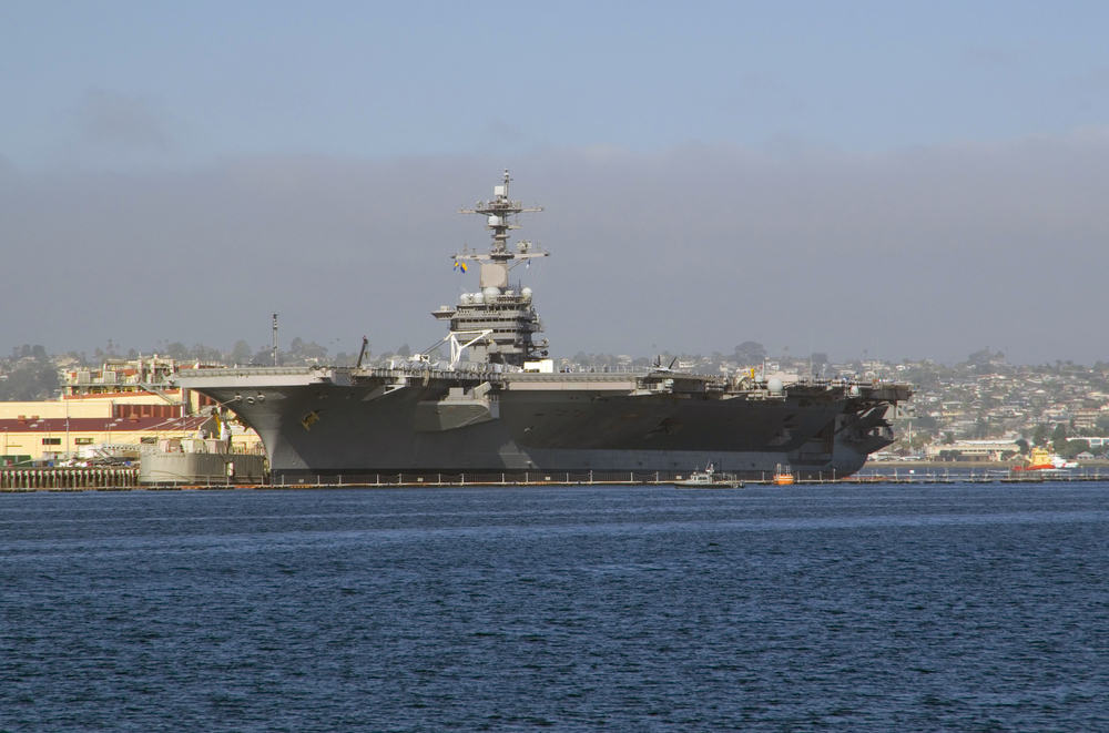 USS Carl Vinson Sails With F-35 Air Wing On Board