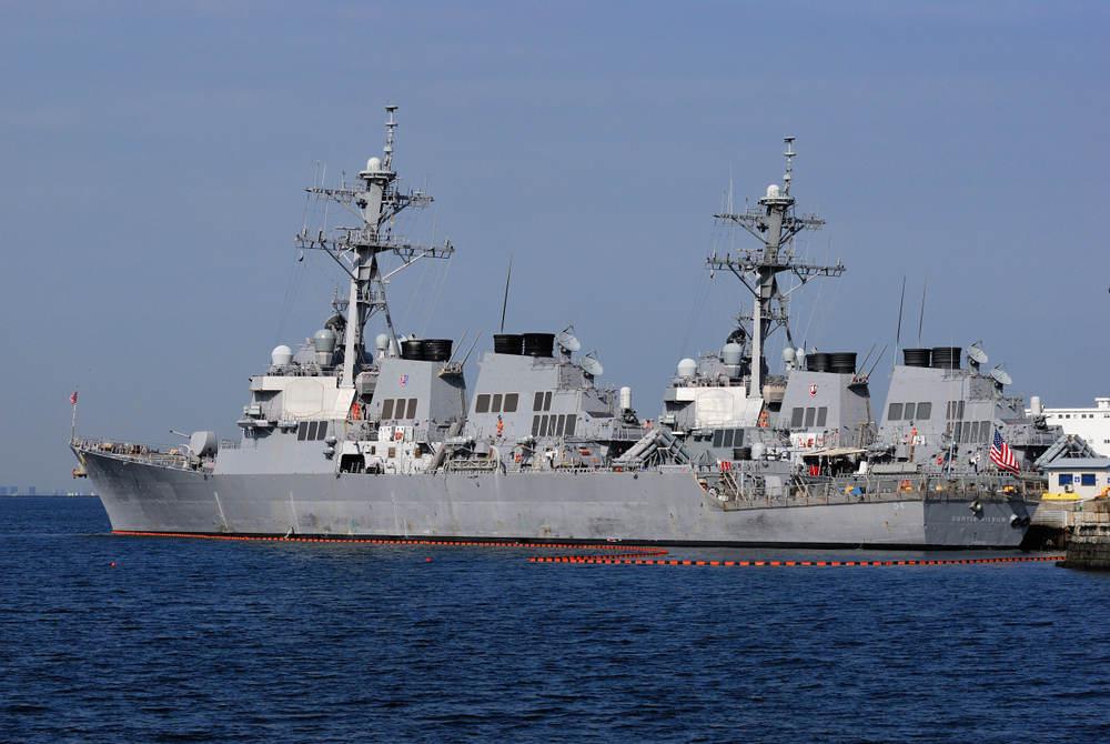 USS Curtis Wilbur Arrives Homeport San Diego